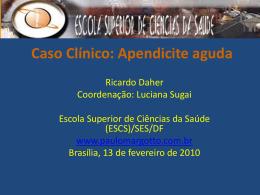 Caso Clínico-Apendicite Aguda