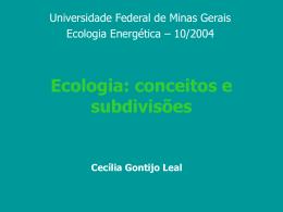 O que é Ecologia Energética?