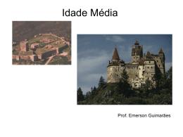 O Feudalismo e a Baixa Idade Média