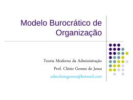 Modelo_Burocrático_.. - Webgiz