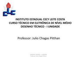 INSTITUTO ESTADUAL CECY LEITE COSTA CURSO