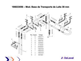 Mod. Base de Transporte de Leite 38 mm