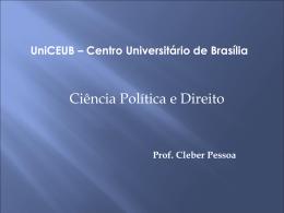 Ciência Política e Direito