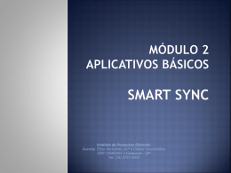 Manual Smart-Sync em ppt