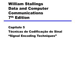 05-TécnicasCodificaçãoSinal