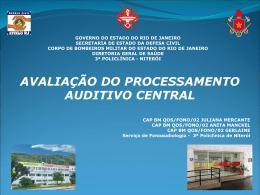 Avalia__o do Processamento Auditivo Central