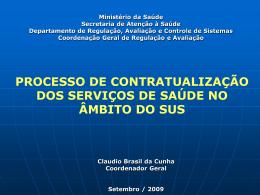 Central de Marcação de Consultas e Exames Especializados
