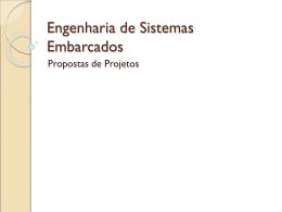 Engenharia de Sistemas Embarcados