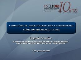 Slide 1 - Fisiopatologia Clínica e Experimental
