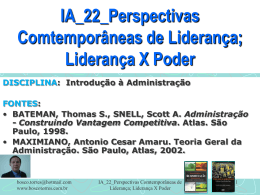 IA_22_Perspectivas Comtemporâneas de Liderança