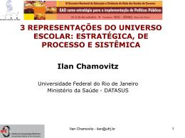3 REPRESENTAÇÕES DO UNIVERSO ESCOLAR: ESTRATÉGICA