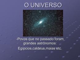 o-universo