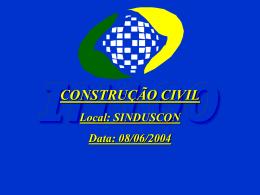 Construção Civil atualizada pela IN 100