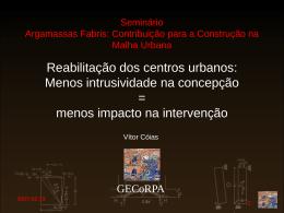 Apresentação Gecorpa, Grémio das Empresas de