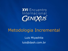 Metodologia Incremental