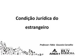 Direitos dos estrangeiros - Ferreira e Carvalho Advogados
