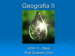 Geografia II - Colégio Santos Anjos