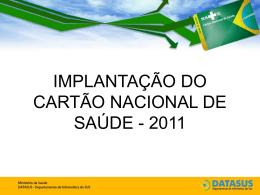 cartão nacional de saúde