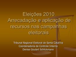 Reunião com os partidos políticos - Tribunal Regional Eleitoral de
