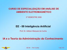 Aula01.2aEe0905e(IA-Teoria da Adm do Conhecimento)