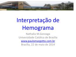 Interpretação de hemograma na Pediatria