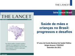 Série Lancet Brasil Brasil