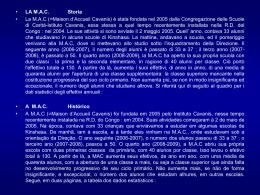Diapositiva 1 - Istituto Cavanis