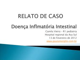 Caso Clínico: Doença inflamatória intestinal