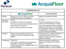 AcquaFloor - informações gerais