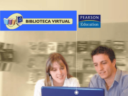 Biblioteca Virtual Pearson Education