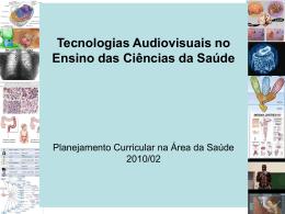 Dimensão Sensorial/empirista dos audiovisuais
