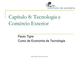 Capítulo 8 - Instituto de Economia da UFRJ