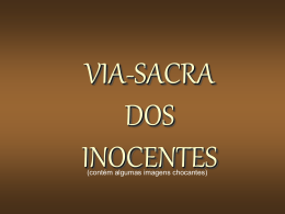 A Via Sacra do Inocentes