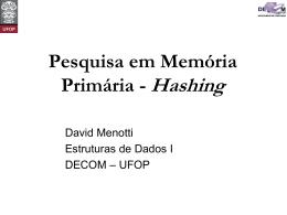 slides - DECOM-UFOP