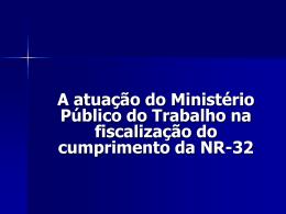 Palestra - Ministério Público do Trabalho