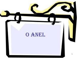 O ANEL - WordPress.com