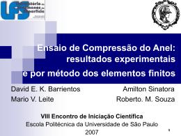 PowerPoint - Universidade de São Paulo