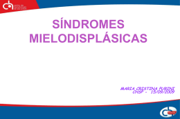 60_Sindrome Mielo Displasica