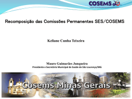 201109_recomposicao_comissoes - Cosems-MG