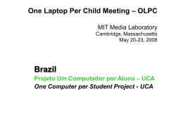 UCA Project - One Laptop per Child