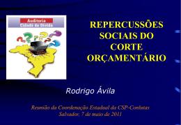 RECEITAS DO MUNICÍPIO DE SALVADOR – 2010