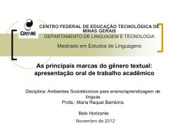 Dicas apres trab academico - ambientes-sociotecnicos