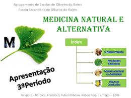 Medicina Natural e Alternativa