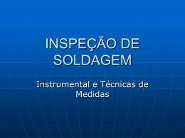 Instrumental rev1 - Engenharia de Soldagem UPE/2011