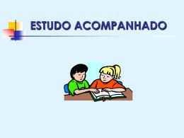 ESTUDO ACOMPANHADO