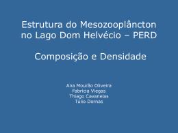 Estrutura do Mesozooplâncton no Lago Dom Helvécio – PERD