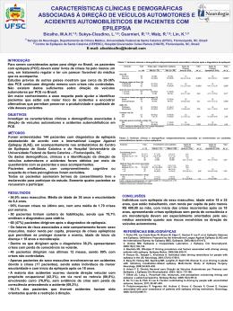Slide 1 - Serviço de Neurologia do HU/UFSC