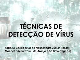 Vírus: Técnicas de Detecção e Prevenção