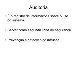 6.1 Auditoria FAU