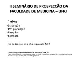 pós-graduação e pesquisa na faculdade de medicina da ufrj